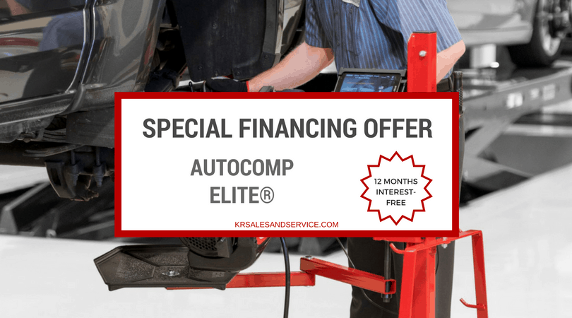 Special Financing Offer AutoComp Elite®