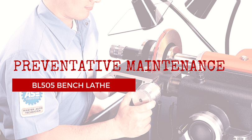 BL505 Bench Lathe Preventative Maintenance