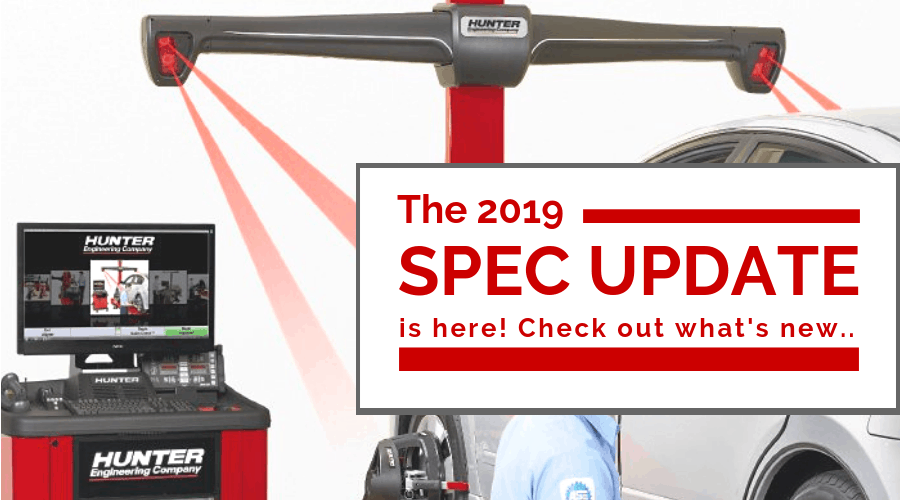 The 2019 Specification Update Is Here! Check Out What's New