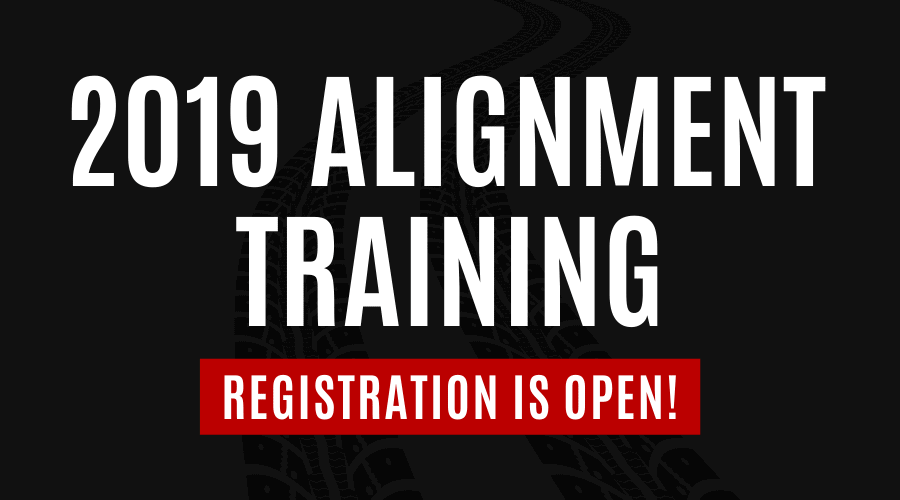 2019 Alignment Training Registration is Open
