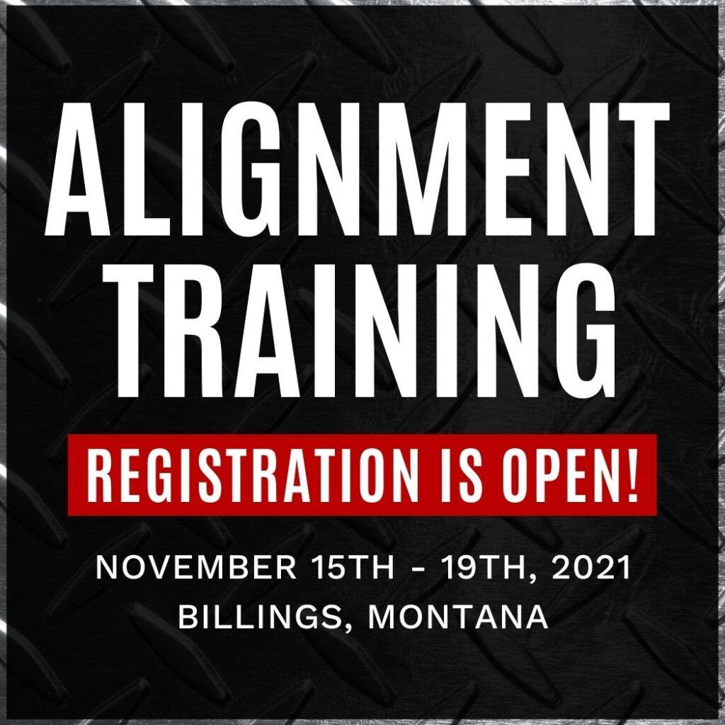 2021 Alignment Training